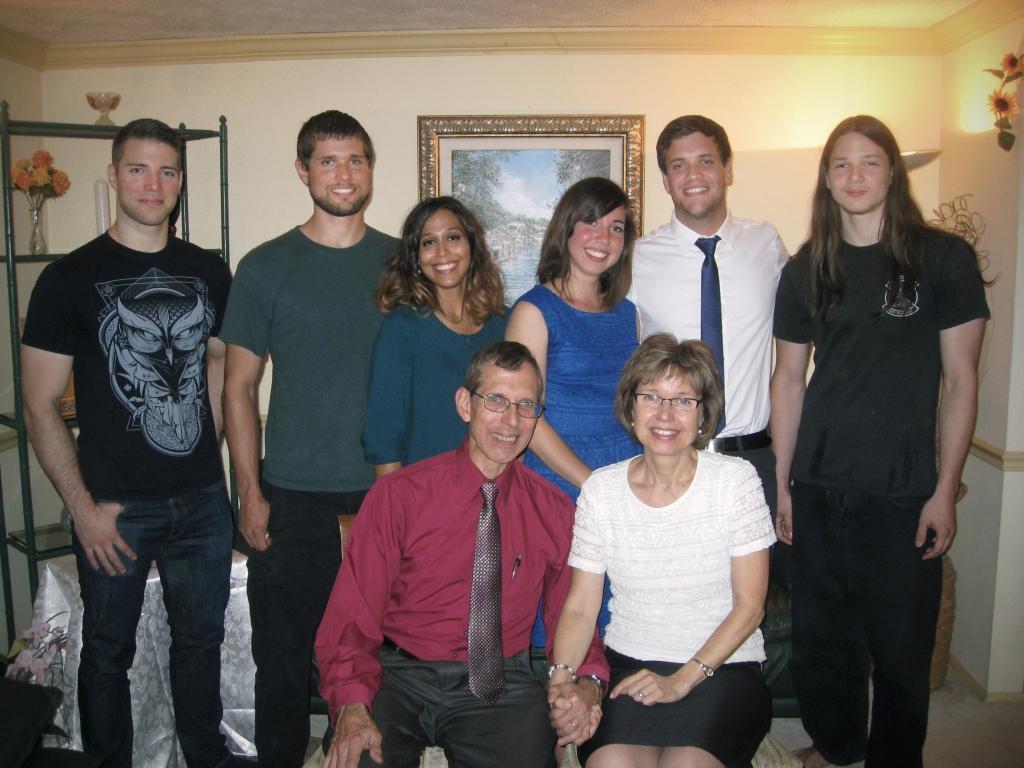 Selle Family photo - Dec. 2013